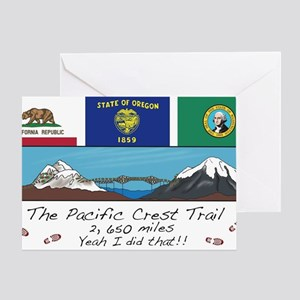 Pacific Crest Trail Greeting Card