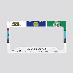 Pacific Crest Trail License Plate Holder