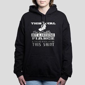 hot fiance' Women's Hooded Sweatshirt