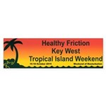Healthy Friction Tropical Island Weekend Bumper St