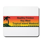 Healthy Friction Tropical Island Weekend Mousepad