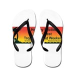 Healthy Friction Tropical Island Weekend Flip Flop