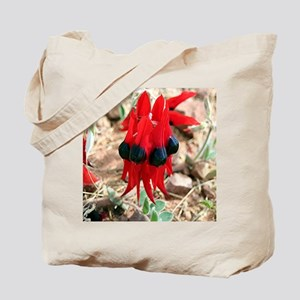 Sturt's Desert Pea Wildflowers Tote Bag