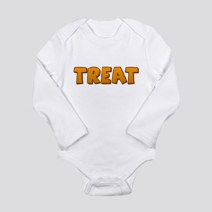 Halloween Treat Long Sleeve Infant Bodysuit