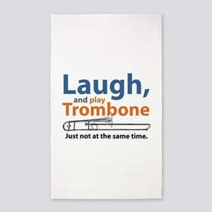 Laugh and Play Trombone Area Rug