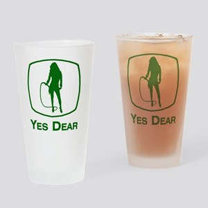 Yes Dear Drinking Glass