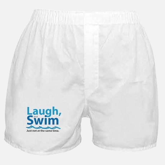 Laugh and Swim Boxer Shorts