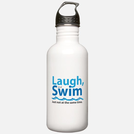 Laugh and Swim Water Bottle