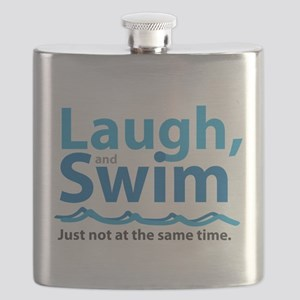 Laugh and Swim Flask