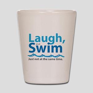 Laugh and Swim Shot Glass
