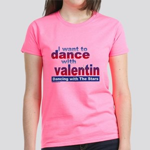 Dwts I Want To Dance With Val Women's Dark T-S