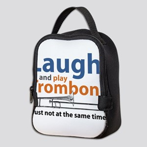 Laugh and Play Trombone Neoprene Lunch Bag