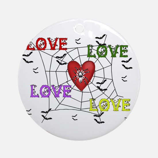 Cynical Love Round Ornament