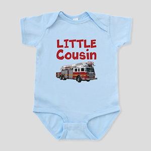 Little Cousin - Firetruck Body Suit
