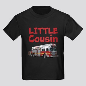 Little Cousin - Firetruck T-Shirt