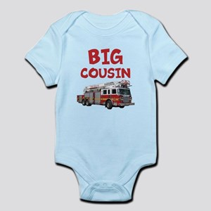 Big Cousin - Firetruck Body Suit