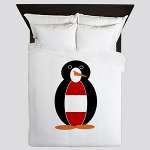 Austrian Penguin Queen Duvet