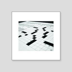 Crossword Dreamscape Sticker