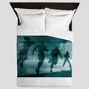 Fitness App Tracker Soft Queen Duvet