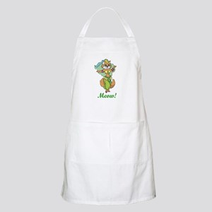 Belly Dancing Cat BBQ Apron