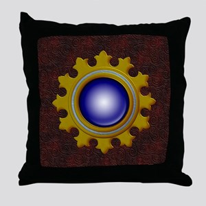 Harvest Moon's Jeweled Ornament Throw Pillow