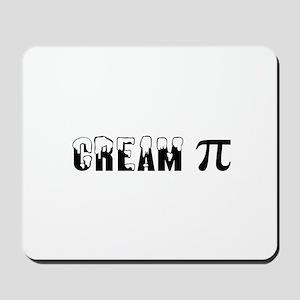 CREAM PI Mousepad