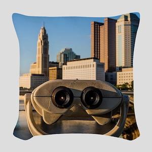Wall-E Skyline Woven Throw Pillow