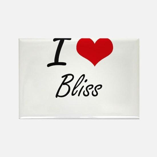 I Love Bliss Artistic Design Magnets
