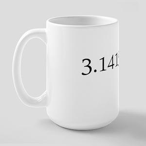 Number pi Large Mug