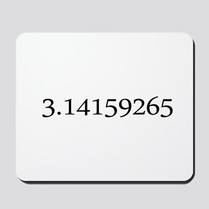 Number pi Mousepad