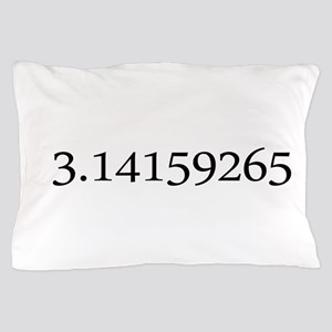 Number pi Pillow Case