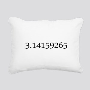 Number pi Rectangular Canvas Pillow