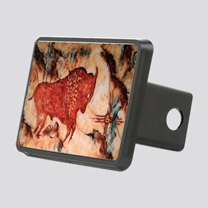 Bison Petroglyph Rectangular Hitch Cover