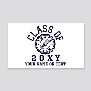 Class Of 20?? Track Wall Decal