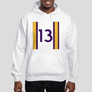 thirteen purple Hooded Sweatshirt