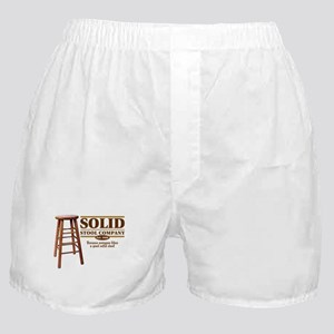 Solid Stool Boxer Shorts
