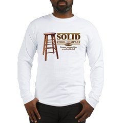 Solid Stool Long Sleeve T-Shirt