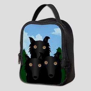 Wolfie Neoprene Lunch Bag