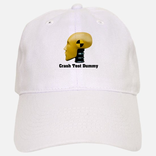 Crash Test Dummy Baseball Baseball Cap