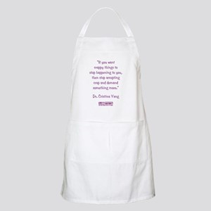 DEMAND MORE... Apron