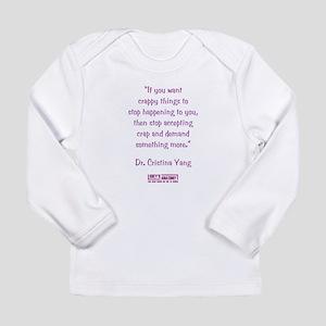 DEMAND MORE... Long Sleeve Infant T-Shirt