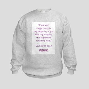 DEMAND MORE... Kids Sweatshirt