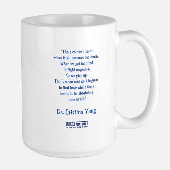 FIND HOPE Large Mug