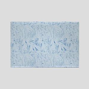 Blue Texture Magnets