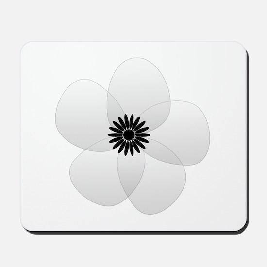 Cute Chic Anemone Mousepad