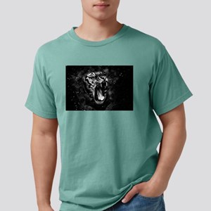 Wild Tiger Portrait Black White Animal T-Shirt