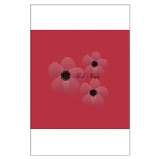 Cute Chic Anemone Large Poster