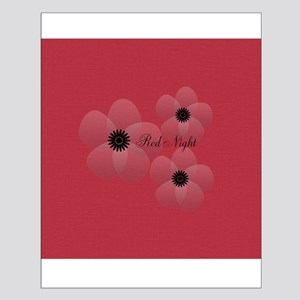 Cute Chic Anemone Small Poster