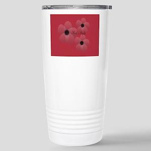 Cute Chic Anemone Stainless Steel Travel Mug