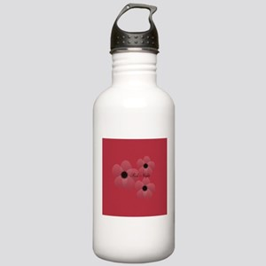 Cute Chic Anemone Stainless Water Bottle 1.0L